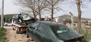 Denizli'de trafik kazası: 1 ölü, 7 yaralı