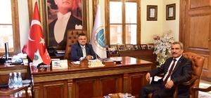 Başkan Yağcı'ya fuara katılım daveti