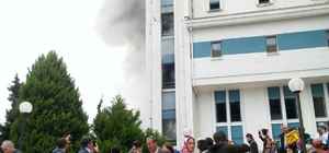 Ordu Devlet Hastanesi'nde yangın