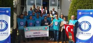 """Başkan Özdemir'den Türk-Sağlık Sen'e """"Hodri meydan"""""""