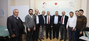 Başkan Baran'ın dernek ziyaretleri devam ediyor