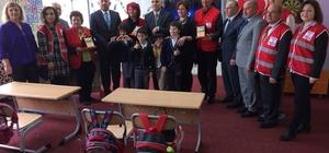 Kızılay Çorlu Şubesi'nden özel eğitim sınıflarına destek
