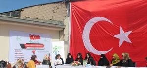 Tuşba'da şehitleri anma programı