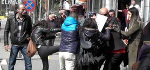 Zonguldak'ta kavga eden kadınları polis ayırdı