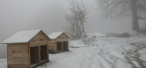 Trakya'da kar yağışı