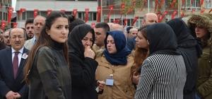 Şehit polis Yunus Çavdar için valilik önünde tören yapıldı
