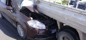 Aksaray'da 4 araçlık zincirleme kaza