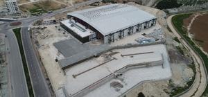 Şanlıurfa fuar merkezi inşaatı sürüyor