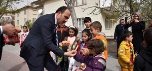 """Başkan Altay: """"Çocuklar bereketimizi arttırıyor"""""""