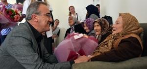 Başkan Karaçoban'dan Yaşlılar Haftası'nda anlamlı ziyaret