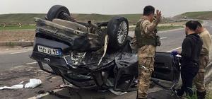 Batman'da virajı alamayan araç takla attı: 2 ölü