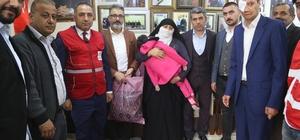 Türk Kızılayı'ndan Silopi'deki engellilere yardım