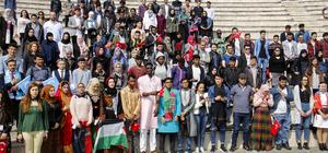 Yabancı öğrenciler Nevruz Bayramı'nı kutladı