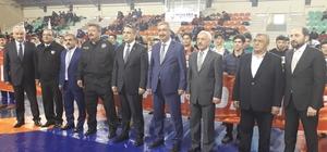 Türkiye Genç Erkekler Grekoromen Güreş Şampiyonası, Çorum'da başladı