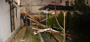 Bodrum'da fırtına hayatını olumsuz etkiledi
