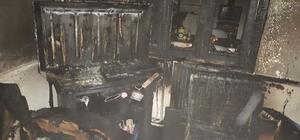 Balıkesir'de ev yangını