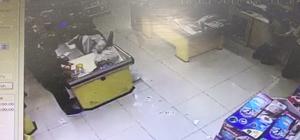 Bozuk para hırsızı kamerada