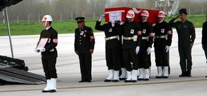 Afrin şehidinin cenazesi Tokat'a getirildi