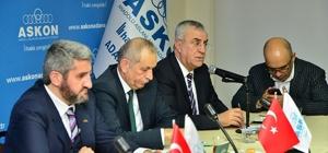 ASKON başkan adaylarını dinledi