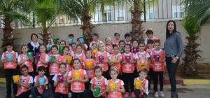 Minik öğrenciler ağaç kardeşliği projesine katıldı