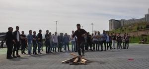 Düzce Üniversitesi'nde Nevruz neşeyle karşılandı