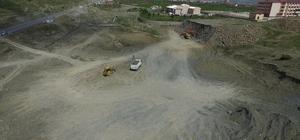 Kulp'ta Şehir Stadyumu projesinin inşaat çalışmaları başladı
