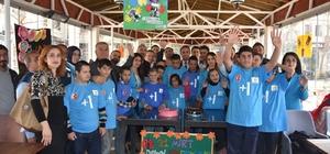 Nusaybin'de Down sendromlu çocuklar gönüllerince eğlendi