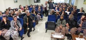 Burhaniye'de Dünya Su Günü'nde altın madeni tartışıldı