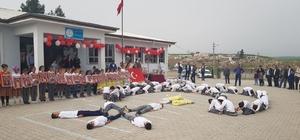 Köy okulunun etkinliğinde görsel şölen yaşandı