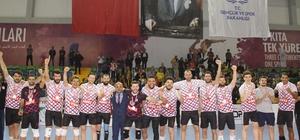 Voleybol 1. Ligi erkekler final etabı maçları sona erdi