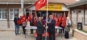 """Afrin'e """"Portatif Bayrak Direkleri"""" gönderildi"""