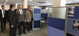 TİKA'dan El Nahreyn Stratejik Araştırmalar Merkezine donanım desteği