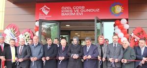 Çerkezköy OSB tarafından yaptırılan kreşin açılışını Bakan Kaya yaptı