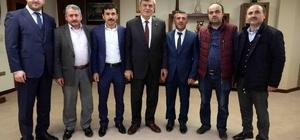 Başkan Karaosmanoğlu dernek yöneticilerini ağırladı