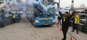 Fenerbahçe kafilesi Bolu'ya geldi