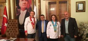 Aşçılar Federasyonu Başkan Yardımcısı Türkoğlu'ndan Başkan Yağcı'ya ziyaret