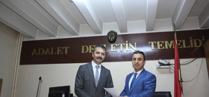 AK Parti İl Başkanı Doğanay, mazbatasını aldı