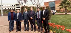 Muş'dan Karacoşkun'a ziyaret