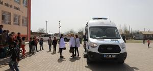 Mardin'de belediyeden öğrencilere sağlık taraması