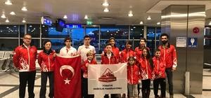 Spor Tırmanış Milli Takımı Avrupa'da