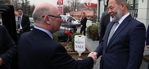 Akdağ, İngiltere'nin Ortadoğu Bakanı Burt ile görüştü