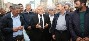 Başkan Büyükkılıç Esentepe Mahallesini ziyaret etti