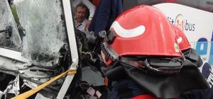 Sapanca'da zincirleme kaza: 1 yaralı