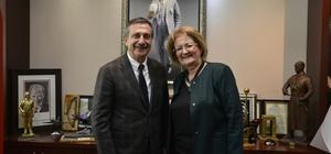 Bozkurt Belediye Başkanı Çelik'ten Ataç'a ziyaret