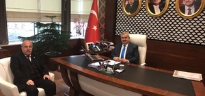 Başkan Baran, ziyaretçilerini ağırlamaya devam ediyor