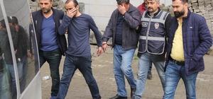 Benzinliği soyan hırsızlar güvenlik kamerası kayıt cihazını da çaldı