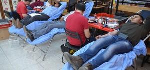 Turgutlu'da mahalleliden kan bağışı duyarlılığı