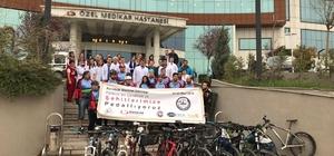 Karabük Bisiklet Derneği Çanakkale'ye pedallıyor