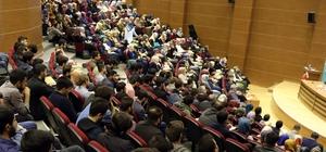 Prof. Dr. Uludağ'dan İslam'da Birlik ve Cemaatler Konferansı