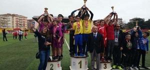 Okullar arası atletizm il birinciliği müsabakaları sona erdi